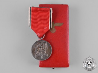 Germany, Third Reich. A Cased Anschluss Commemorative Medal