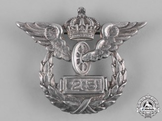 Germany, Imperial. A Prussian State Railway 25-Year Long Service Badge by Johann Wagner & Sohn