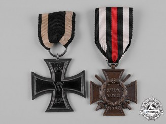 Germany, Imperial. A Pair of First War Period Medals