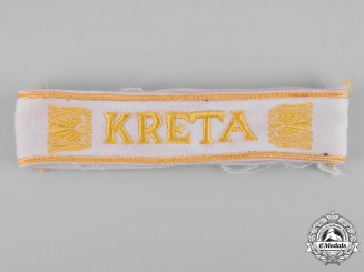 Germany, Wehrmacht. A Kreta Campaign Cuff Title