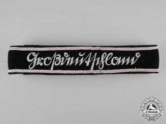 Germany, Heer. A Panzer Grenadier Großdeutschland Division Officer's Cuff Title