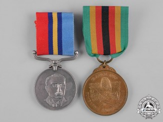 Rhodesia, Republic of Zimbabwe. A Pair of Medals