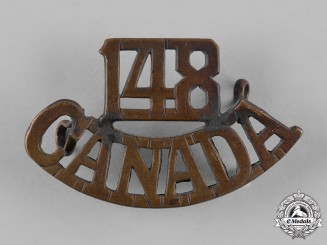 Canada. A 148th Infantry Battalion Shoulder Title