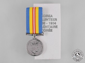 Canada. A Canadian Volunteer Service Medal for Korea