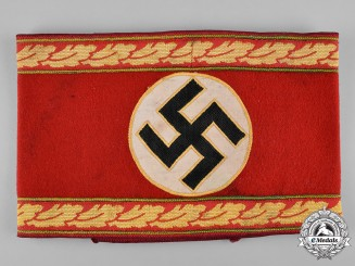 Germany, NSDAP. A Reich-Level Main Department Leader Armband