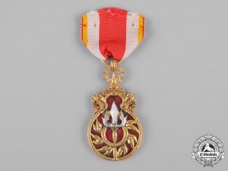 Laos, Kingdom. A Combat Veteran's Medal
