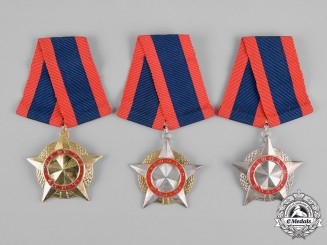 Laos, Democratic Republic. A Medal of Freedom, I, II and III Classes