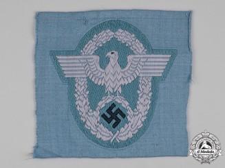Germany, Schutzpolizei. A Schutzpolizei EM/NCO's Sleeve Eagle
