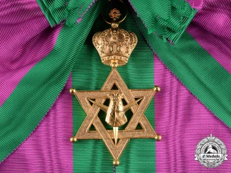 Ethiopia, Empire. A Most Exalted Order of the Queen of Sheba, Grand Cross Badge