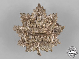 Canada. A Boer War General Service Officer's Collar Badge