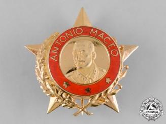 Cuba, Socialist Republic. An Order of Antonio Maceo, I Class c.1980