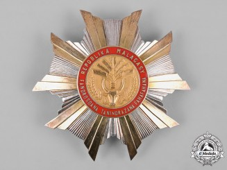 Madagascar, Republic. A National Order, Grand Cross Star, c.1960