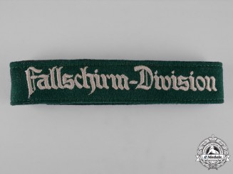 Germany, Luftwaffe. A Fallschirm-Division Cuff-Title