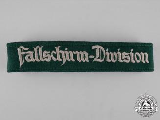 Germany, Luftwaffe. A Fallschirm-Division Cuff-Title