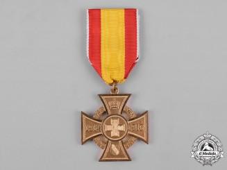 Baden, Duchy. A First War Cross for Voluntary War Aid