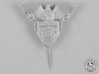 Slovakia, I Slovak Republic. A Skoda Stadium Opening Badge, August 14-15, 1943