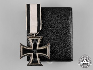 Germany, Imperial. A Cased 1914 Iron Cross II Class for Non-Combatants
