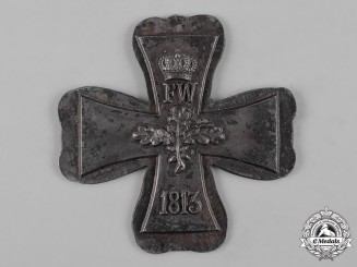 Prussia, Kingdom. A Core for an 1870 Grand Cross of the Iron Cross