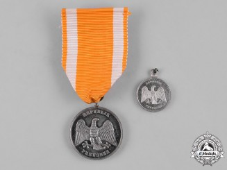 Germany, Weimar. A Medal for Rescue from Danger with Miniature