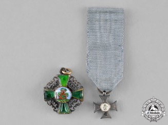 Germany, Imperial. Two Miniature Awards and Decorations