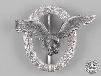 Germany, Federal Republic. A Luftwaffe Pilot's Badge, Post-1957 Reissue