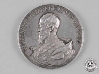 Bavaria, Kingdom. An 1895 Franco-Prussian War Commemorative Medallion by L. Christian Lauer