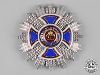 Montenegro, Kingdom. An Order of Danilo, II Class Grand Officer Breast Star, by Kretly, c.1910