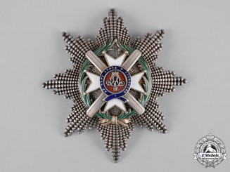 Serbia, Kingdom. An Order of the Cross of Takovo, I Class Grand Cross Star, by Rothe, c.1900