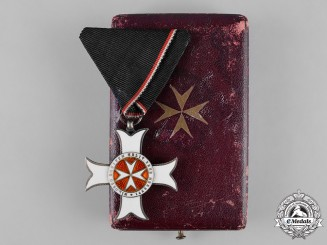 Austria, Imperial. A Sovereign Order of the Knights of Malta 1916, Merit Cross