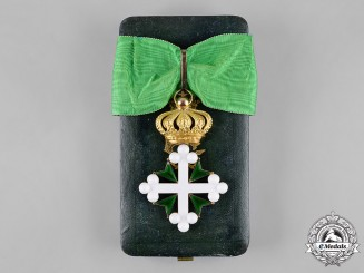 Italy, Kingdom. An Order of St. Maurice and St. Lazarus in Gold, III Class Commander