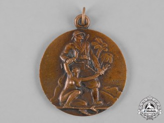 Italy, Republic. A Commemorative Medal for Veteran of East African Campaign WWII, by E. MONTI
