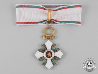 Bulgaria, Kingdom. An Order of Civil Merit, III Class Commander, c.1946