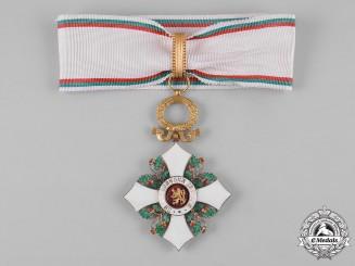 Bulgaria, Kingdom. An Order of Civil Merit, III Class Commander, c.1946