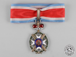 Serbia, Kingdom. An Order of the Cross of Takovo, III Class Commander, by Anton Fürst, c.1880