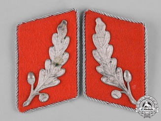 Germany, NSKK. A Set of Standartenführer Collar Tabs