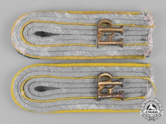 Germany, Heer. A Set of Field Postal Service Leutnant's Shoulder Boards