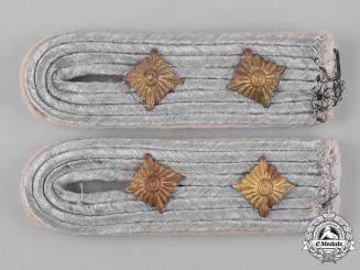 Germany, Heer. A Pair of Heer (Army) Infantry Hauptmann Shoulder Boards