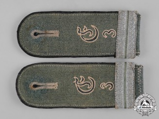 Germany, Heer. A Set of Supplementary Battalion EM/NCO's Shoulder Straps