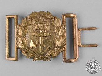 Germany, Imperial. An Imperial German Navy Officer's Belt Buckle