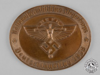 Germany, NSFK. A 1938 National Socialist Flying Corps (NSFK) German Flight Plaque