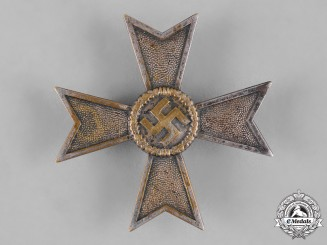 Germany, Wehrmacht.  A War Merit Cross, I Class, by Otto Schickle