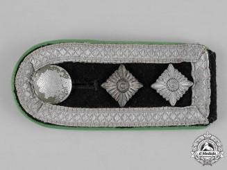 Germany, Waffen-SS.  A Single Hauptscharführer Shoulder Strap