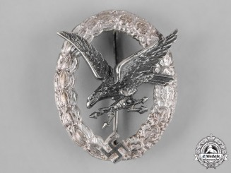 Germany, Luftwaffe. A Radio Operator Badge by F.W. Assmann & Söhne