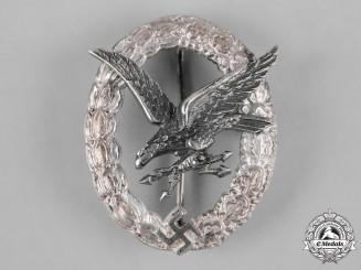Germany, Luftwaffe. A Radio Operator Badge by F.W. Assmann & Söhne