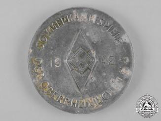 Germany, HJ. A 1942 HJ Summer Combat Games Victor's Medal