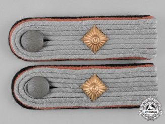 Germany, SS. A Set of Reconnaissance Obersturmführer Shoulder Boards