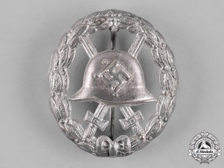 Germany, Wehrmacht. A Wound Badge, Silver Grade, Cut Out Version
