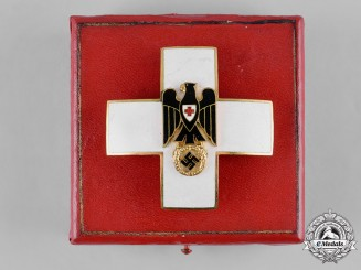 Germany, DRK. A Cased German Red Cross Merit Cross