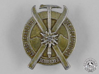 Germany, Luftwaffe. A 4th Flak Division Ski Award