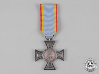 Mecklenburg-Strelitz, Duchy. A Cross for Distinction in War, II Class, with Combatant's Ribbon